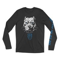 "Official WWE Authentic Roman Reigns ""Unleash The Big Dog"" Long Sleeve T-Shirt Multi Small"