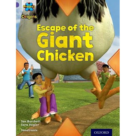 Project X Origins : Purple Book Band, Oxford Level 8: Habitat: Escape of the Giant Chicken](100 Floors Escape Halloween Level 8)