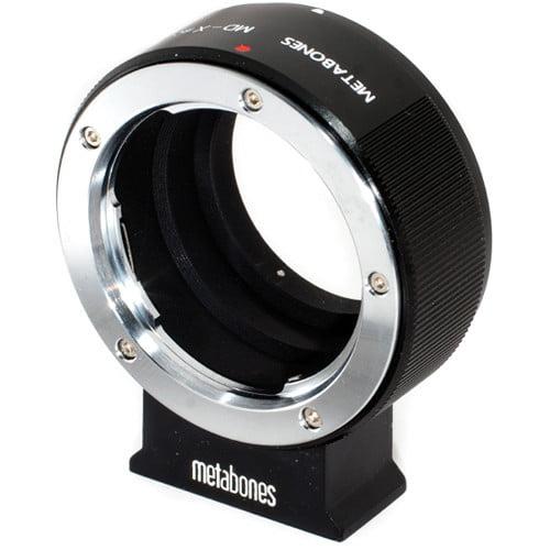 Metabones Black Matte Minolta MD to Fujifilm X-Mount Adapter