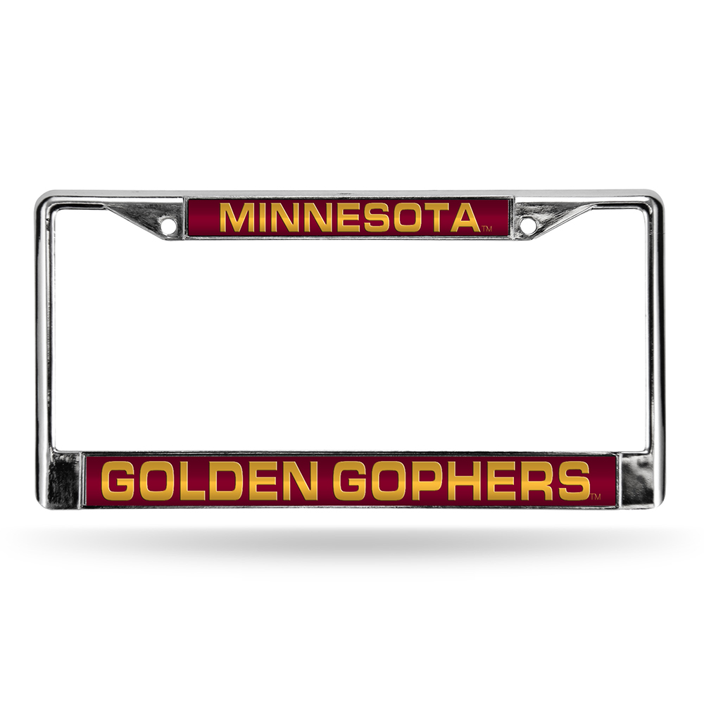 Minnesota Golden Gophers NCAA Chrome Laser Cut License Plate Frame