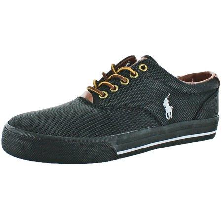 986fe1ca50 Polo Ralph Lauren Vaughn Men's Canvas Fashion Sneakers Shoes