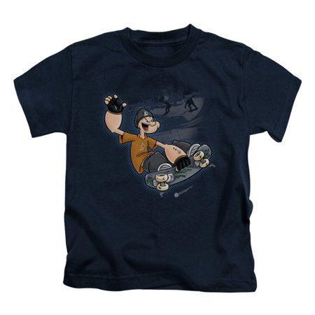 Childrens Clothing Shops (Popeye Boys' Popeye Sk8 Childrens T-shirt)