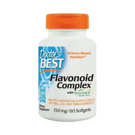 Doctor's Best Flavonoid Complex with Sytrinol, Non-GMO, Gluten Free, Helps Support Cholesterol, 60
