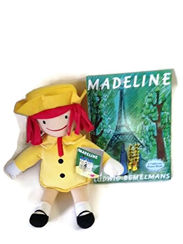 Madeline Hard Cover Book With Plush Doll by