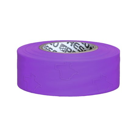 Presco Texas Roll Flagging Tape: 1-3/16 in. x 300 ft. (Purple)