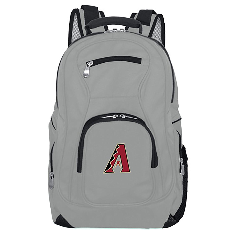 MLB Arizona Diamondbacks Gray Premium Laptop Backpack