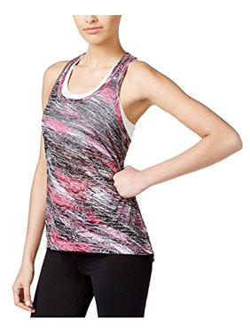 31029d296871c9 Product Image Ideology Womens Printed Burnout Tank Top Pink XL