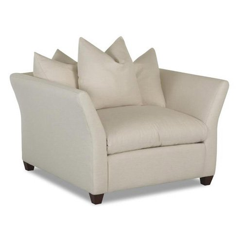Klaussner Fifi Chair Bull Natural by Klaussner