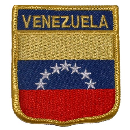 "Venezuela Shield Patch 2 1/2"" x 3"""