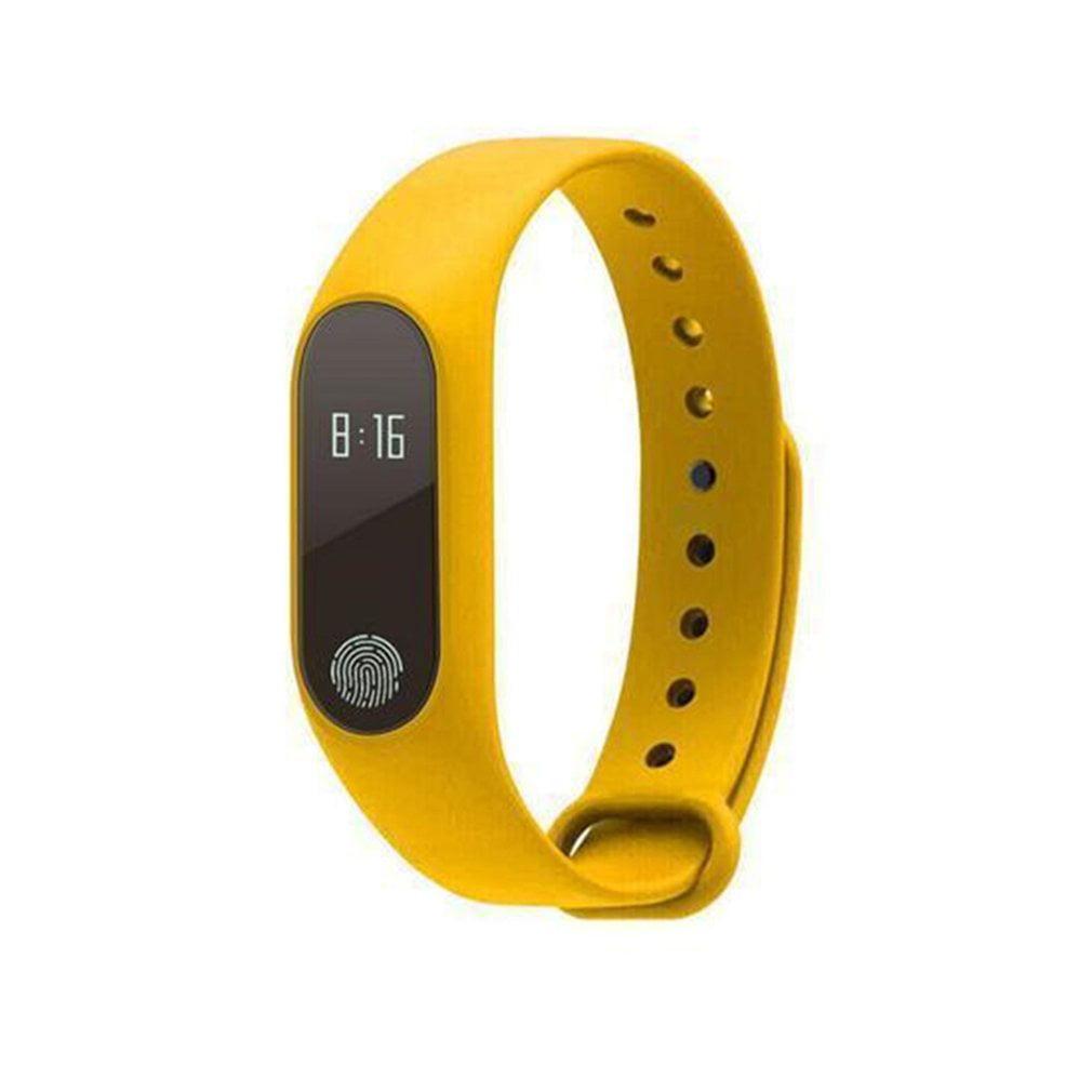 Fitness Tracker Smart Bracelet Sports Pedometer Bluetooth Waterproof Watch Fingerprint Touch Sport Pedometer Auto Activity Tracker, Step Tracker