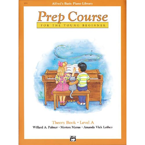 Alfred's Basic Piano Library: Prep Course Theory Book Level A