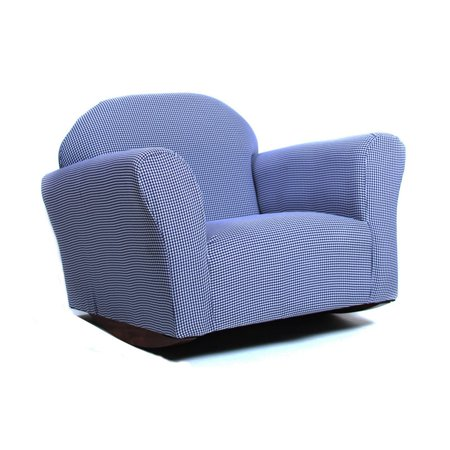 Keet Roundy Gingham Rocking Kids Chair Walmart Com