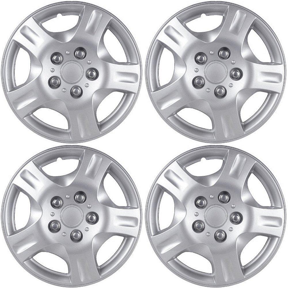 OxGord Silver 16 Inch Wheel Cover/Hub Cap