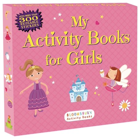 My Activity Books for Girls - Halloween Activities For The Elderly