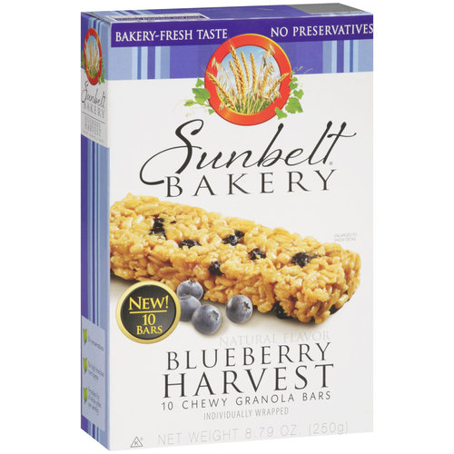 Sb Granola Cereal Sunbelt Blueberry Harvest Chewy Granola