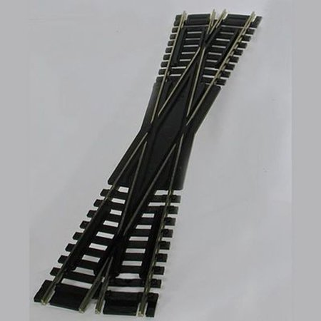 Atlas HO Scale Code 100 Custom-Line 12.5 Degree Crossing, Simulated black wood ties By Atlas Model Railroad - Railroad Crossing Costume