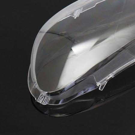 2Pcs Car Clear Headlight Lenses Cover Plastic Fit For Volkswagen Golf 6  - image 7 de 7