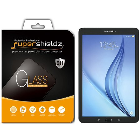 [1-Pack] Supershieldz for Samsung Galaxy Tab E 9.6 Inch Tempered Glass Screen Protector, Anti-Scratch, Anti-Fingerprint, Bubble (Samsung Galaxy Tab 3 8 Inch Screen)