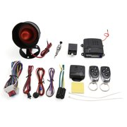 1-Way Car Vehicle Burglar Alarm System Keyless Entry Security System