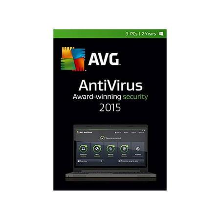 Avg Antivirus 2015  3 Users  2 Years