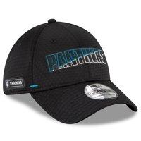 Carolina Panthers New Era 2020 NFL Summer Sideline Official 39THIRTY Flex Hat - Black