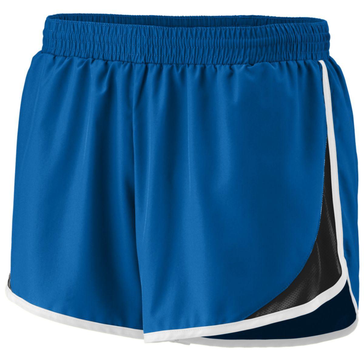 Augusta Sportswear Girls' Adrenaline Short S Royal/Black/White - image 1 of 1