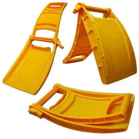Folding Snow Shovel (Garant Snowflex Compact Folding Vehicle Snow Shovel Scraper and Road Cone )