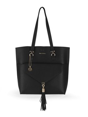 Big Buddha Tote with Tassel Clutch