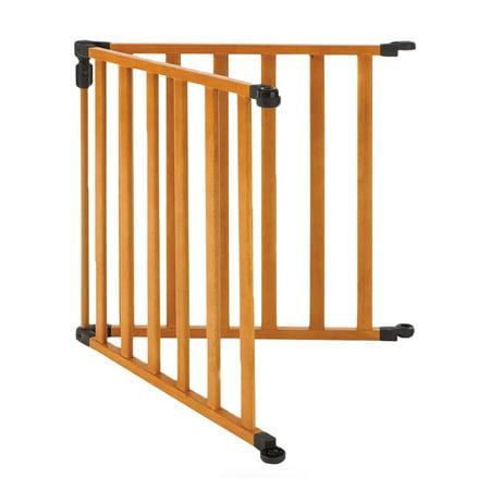 North States 3-in-1 Wood Superyard Pet/ Baby Gate 2-Panel Extension Kit 4941