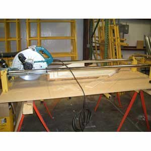 Cross Cut Panel Saw Accessory Beam Saw Kit (Circular Saw And Table Not Included) by SawTrax Mfg., Inc.