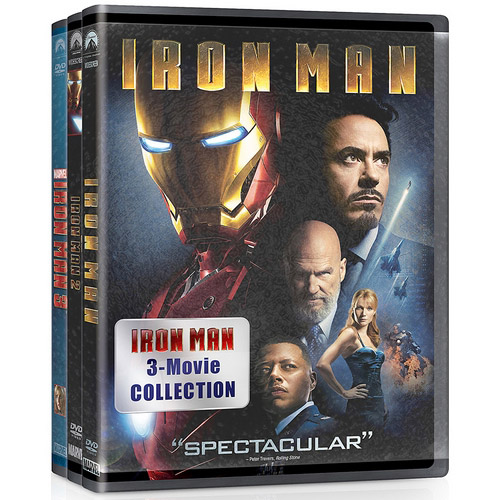IRON MAN COLLECTION (DVD/3 MOVIES)