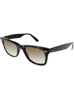Ray-Ban Men's Gradient Original Wayfarer RB2140-902/51-50 Tortoiseshell Wayfarer Sunglasses
