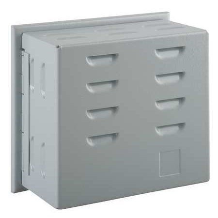 Unvrsl Thermostat Guard,Off-White,Metal 13J049 ()