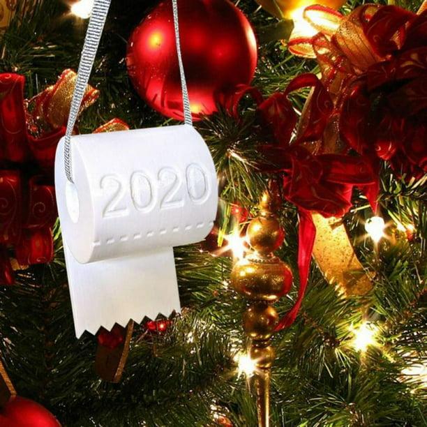 Toilet Paper Christmas Tree Ornament Christmas Gift Christmas Ornament 2020 Christmas Gift 2020 New Year Gift 2021