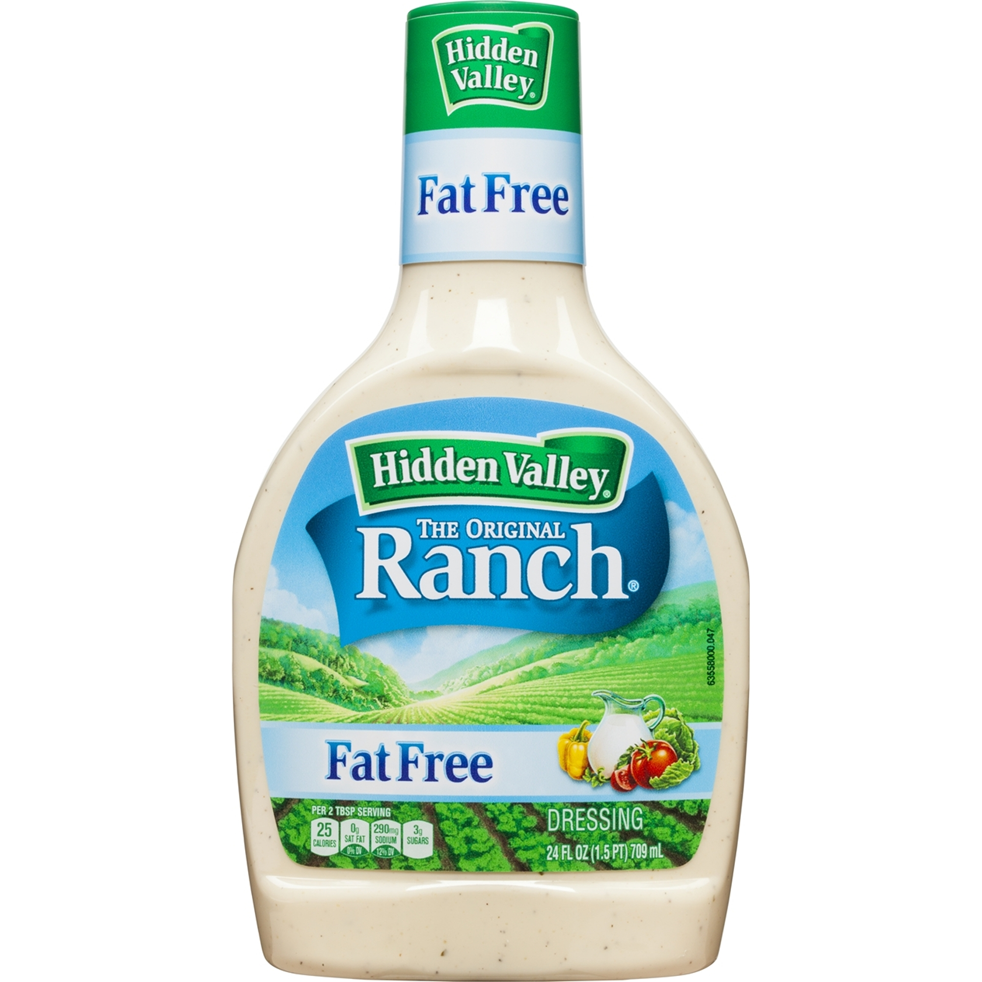 Hidden Valley Original Ranch Fat Free Dressing, 24 Ounces