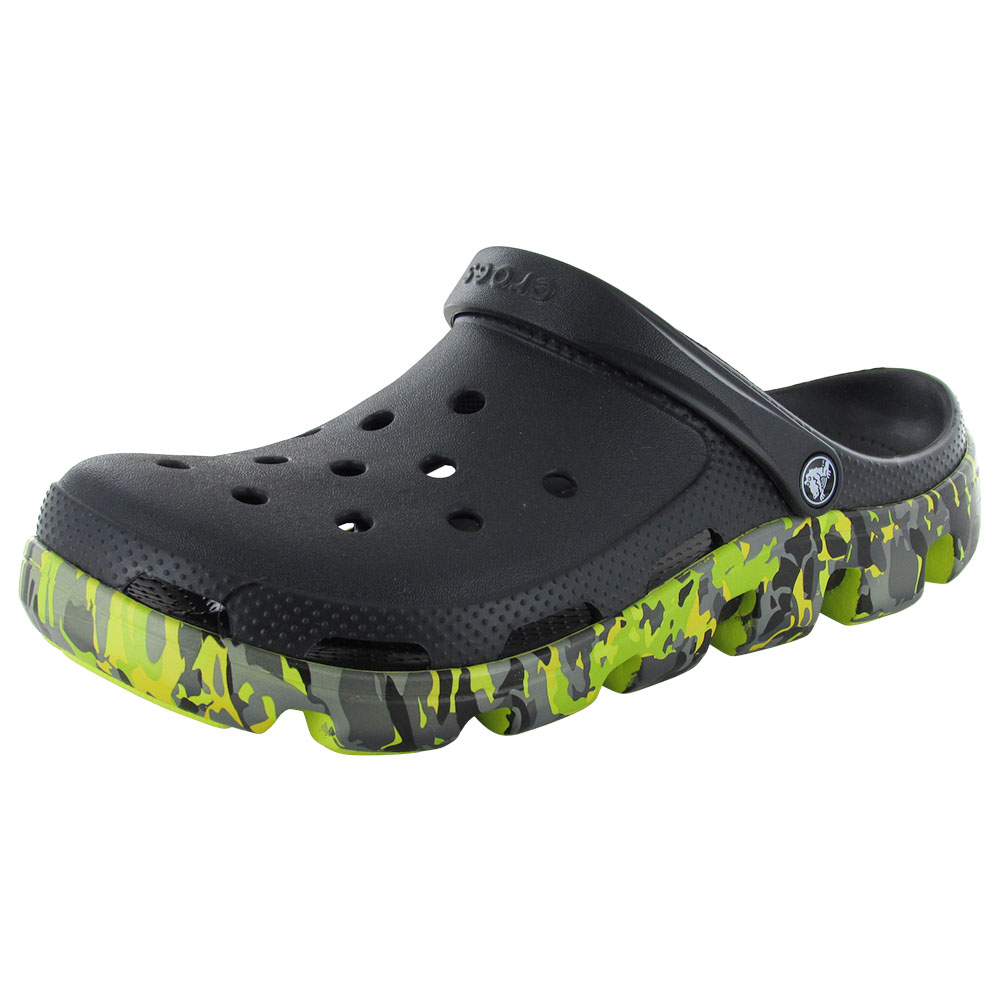 Crocs Duet Sport Marbled Clog Shoes by Crocs