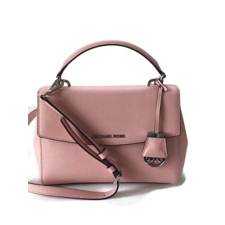 MICHAEL Michael Kors Ava Small Saffiano Leather Satchel Bag - Pale Pink 61324c63d0