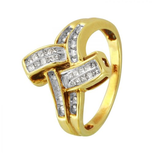 Foreli 0.3CTW Diamond 14K Yellow Gold Ring by Generic
