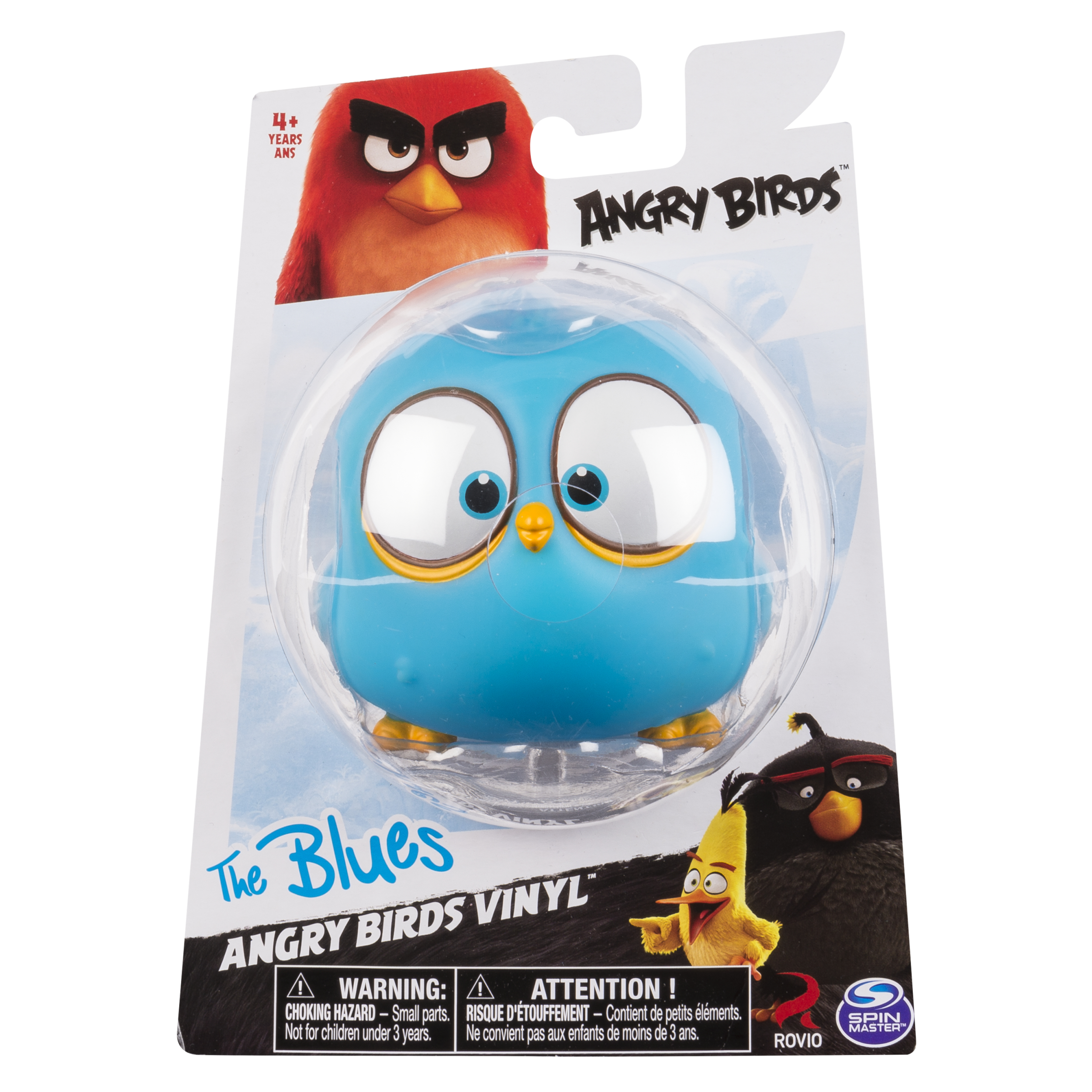 Angry Birds - Vinyl Character - The Blues - Walmart com