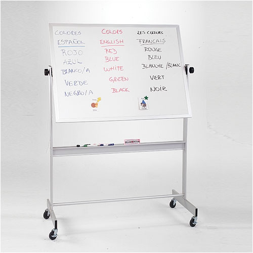 Best-Rite Deluxe Porcelain/Cork Magnetic Reversible Whiteboard