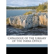 Catalogue of the Library of the India Office Volume 2, PT.4