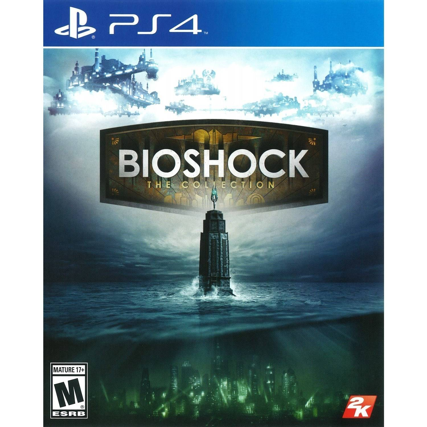 Bioshock: The Collection (Pre-Owned), 2K, PlayStation 4, 886162559309