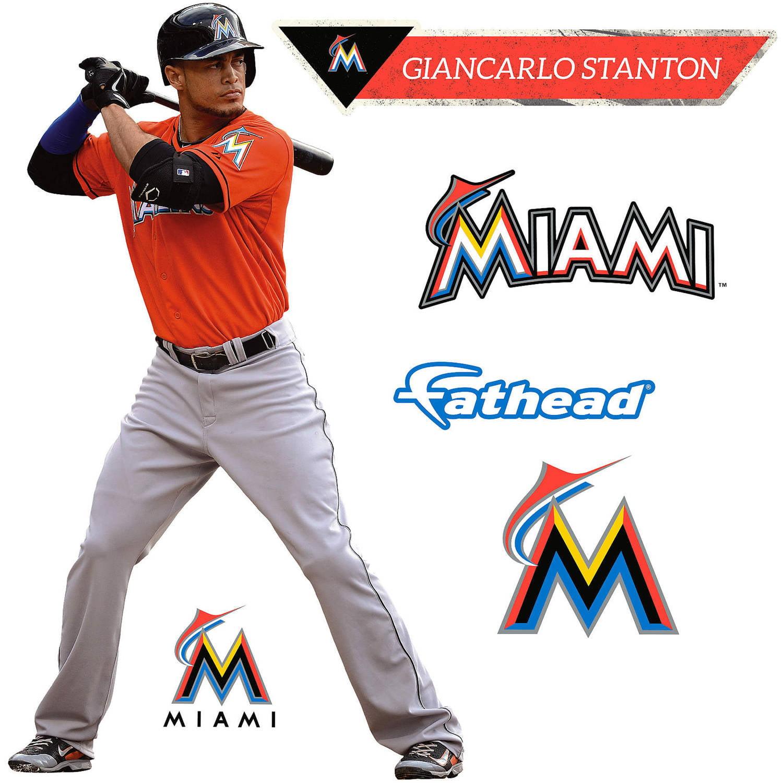 Fathead Giancarlo Stanton Teammate Player