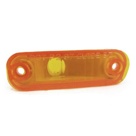 New Genuine GM OEM Side Marker Light 5974617, Amber LH Front or RH Rear Amber Front Marker