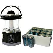 Northpoint 12 LED Lantern, Flashlight, AM/FM Radio and Heavy-duty Battery Box