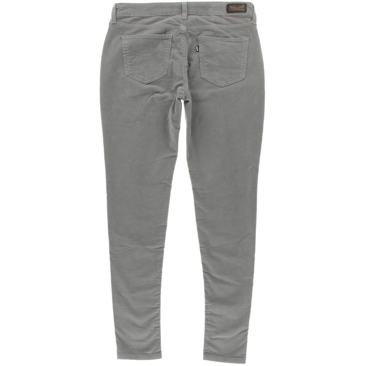 Levi's Womens Juniors Corduroy Legging Corduroy Pants - Walmart.com