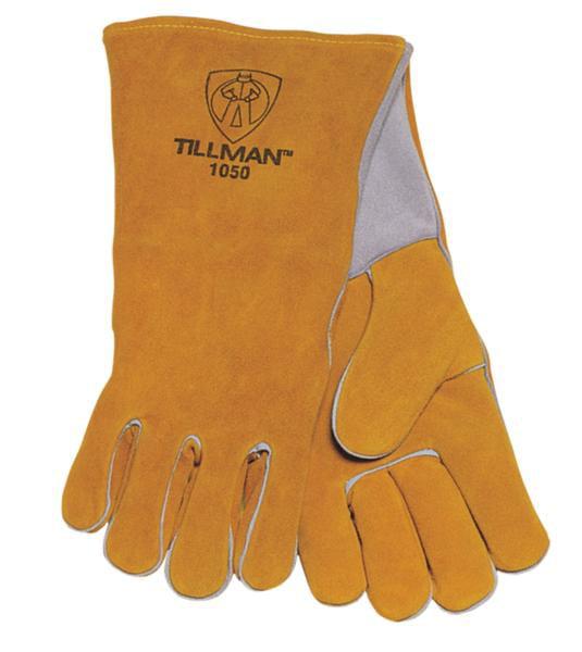 "Tillman 1050 14"" Premium Side Split Cowhide Welding Gloves, Large"