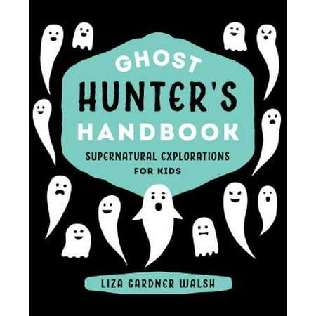 Ghost Hunter's Handbook - eBook (Ghost Writing Book Halloween Decoration)