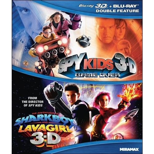 Sky Kids 3-D: Game Over / The Adventures Of Sharkboy And Lavagirl 3-D (Blu-ray) (Widescreen)