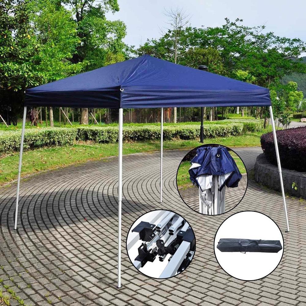 Ktaxon 8' x 8' EZ POP UP Wedding Party Tent Folding Gazebo